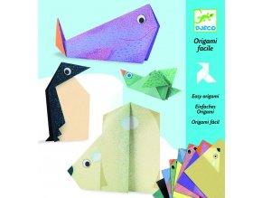 Origami Polární zvířátka