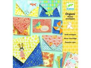 Origami skládačka Obálky