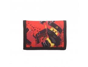 Dětská Peněženka LEGO NINJAGO Kai červená, klučičí