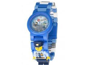 Dětské hodinky LEGO City Police, policie, modré, klučičí