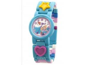 Dětské hodinky LEGO Friends Stephanie, modré, ručičkové