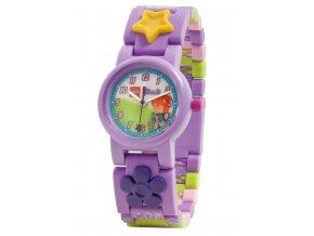 Dětské hodinky LEGO Friends Mia, fialová, holčičí