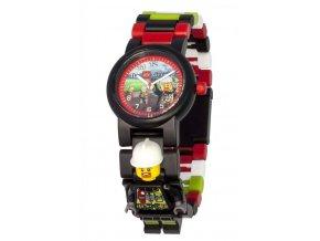 Dětské hodinky LEGO City Firefighter, hasič pro kluky