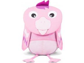 Dětský batůžek Affenzahn Finja Flamingo pro nejmenší děti