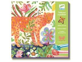 Kreativní sada pískování - tropická zvířátka, djeco