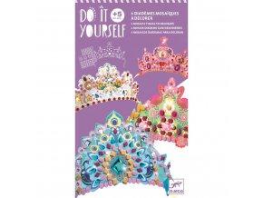 Kreativní sada - mozaikové korunky pro princezny