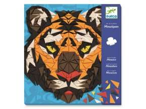 Djeco Mozaika - Tygr a Gorila