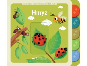 Hmyz moje knížka s pohyblivými prvky, leporelo