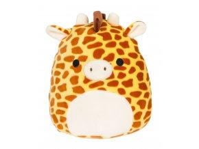 SQUISHMALLOWS Žirafa - Gary, plyšák, polštářek