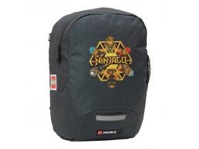 Dětský batoh pro předškoláky LEGO Ninjago Gold zlatý ninja