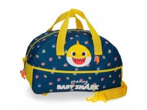 Baby shark sportovní, cestovní taška dětská, žralok