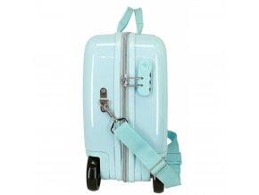 Dětský kufřík na kolečkách Tlapková patrola SKY RŮŽOVÝ