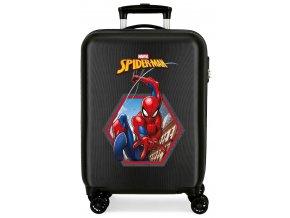 Cestovni kufr Blesk mc queen modrý