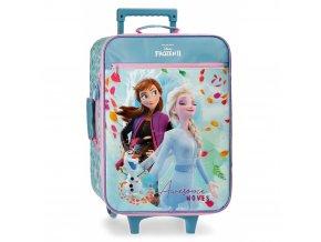 Textilní kufr Frozen Ledové království 2 pro holku