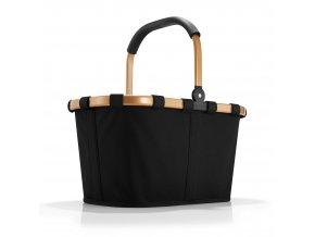 Nákupní košík Carrybag Frame černá/zlatá  VÍCE POHLEDŮ       REISENTHEL