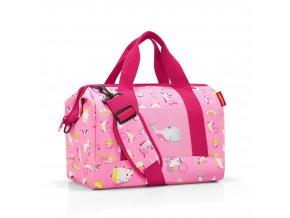 Dětská cestovní taška REISENTHEL M ABC růžová