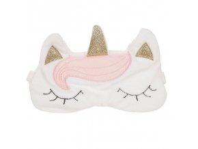 Maska na spaní Jednorožec