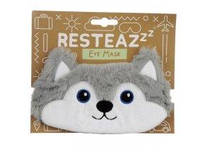 Maska na spaní na oči Husky, dětská