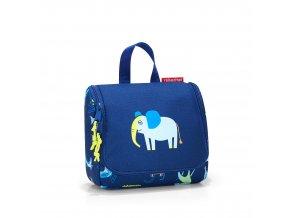 Toaletní taška REISENTHEL S KIDS ABC FRIENDS modrá, slon
