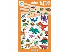 Tetovani djeco Svět dinosaurů