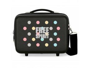 Cestovní ABS kabelka Movom Free Dots Necesér