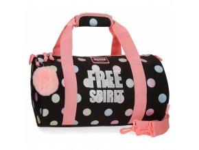 Cestovní taška Movom Free Dots dívší