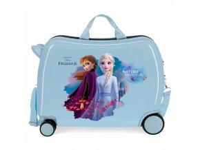 Dětský kufřík joummabagsLedové Království Nature is magical modrá frozen