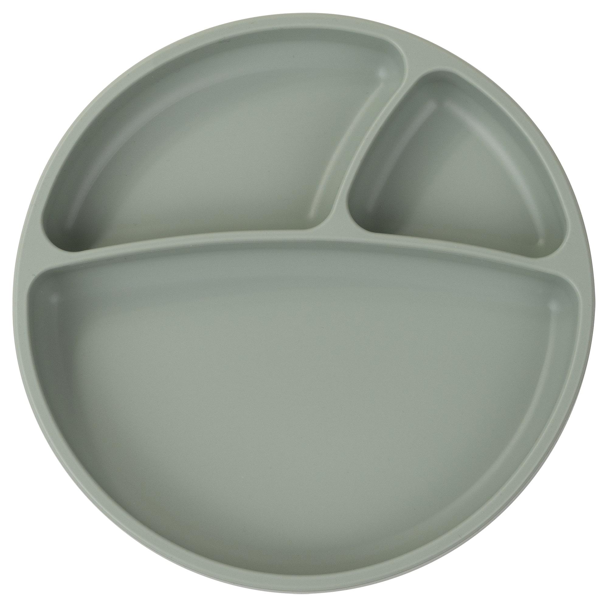 Tanier delený silikónový s prísavkou - River Green