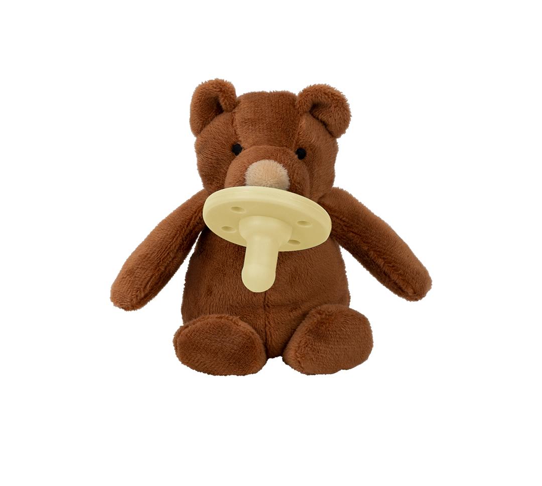 Uspávačik s cumlíkom Medvedík hnedý