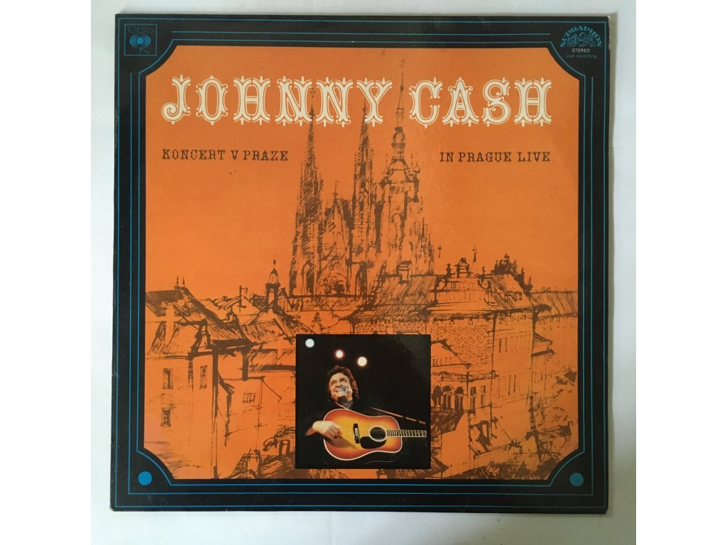Johnny Cash: Koncert V Praze (In Prague Live)