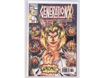 GENERATION X Vol. 1 No. 34, January, 1998