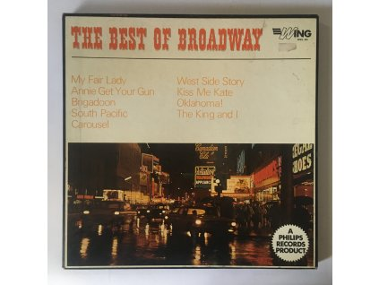 Michael Sammes Singers*, Mary Thomas, Jamie Phillips, Elizabeth Larner, Barry Kent, John Gregory, Denis Quilley, Marilyn Dougan, Danny Purches ?– The Best Of Broadway