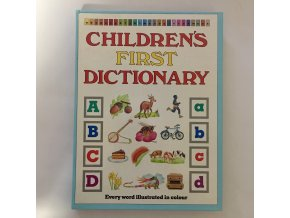 Childreńs first dictionary