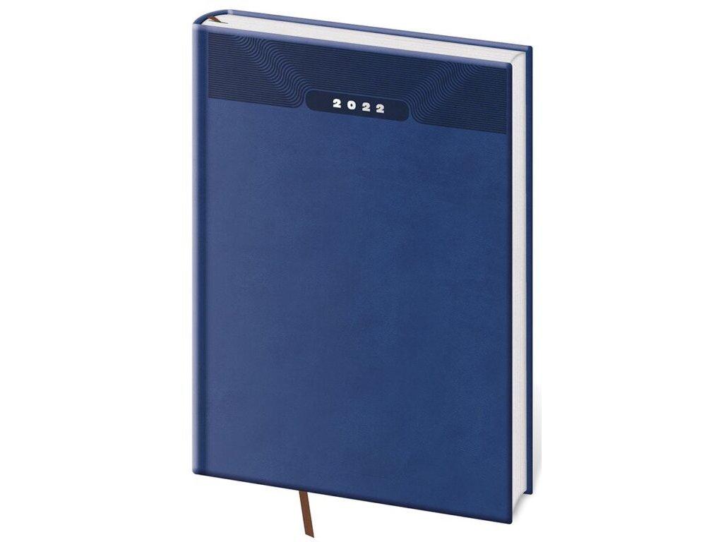Týždenný diár B5 Print modrý