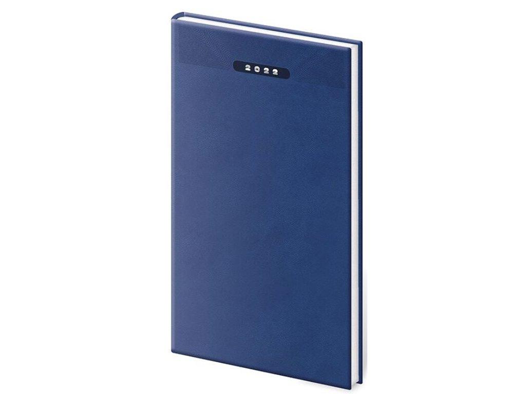 Vreckový diár Print modrý