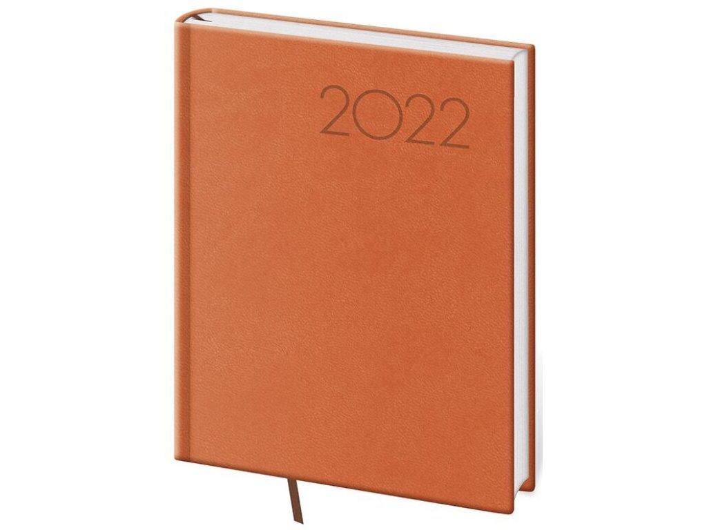 Denný diár B6 Print oranžový
