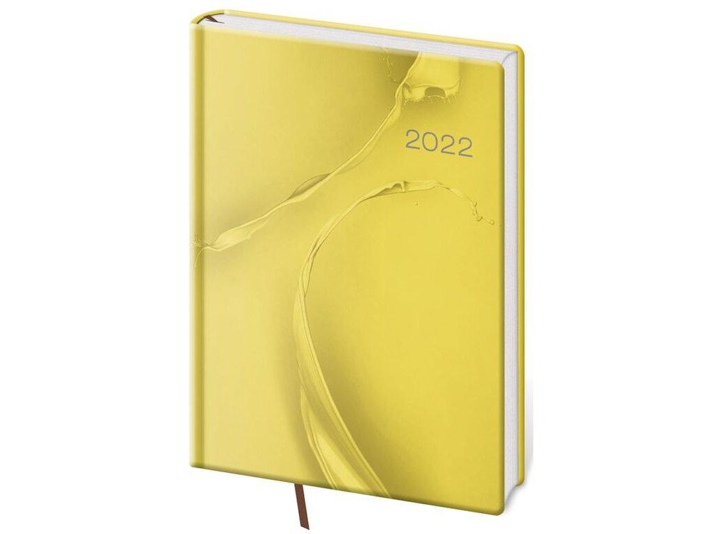 Denný diár A5 Vario Yellow design