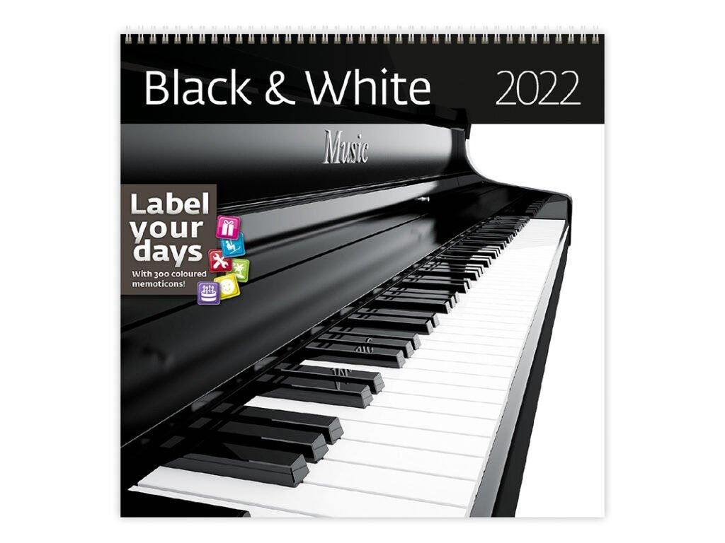 Kalendár Black & White