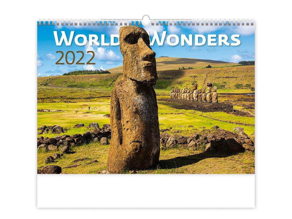 Kalendár World Wonders
