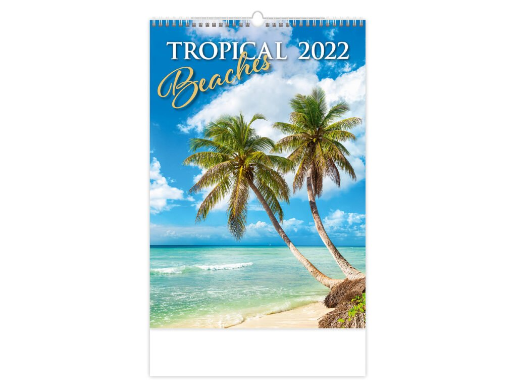 Kalendár Tropical Beaches