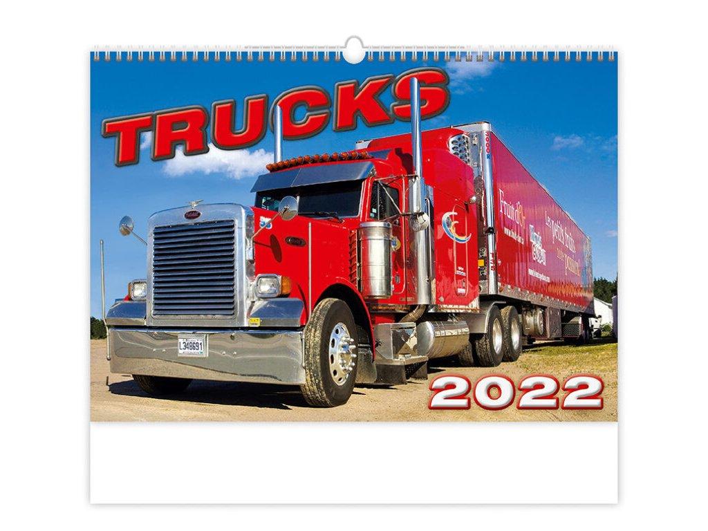 Kalendár Trucks