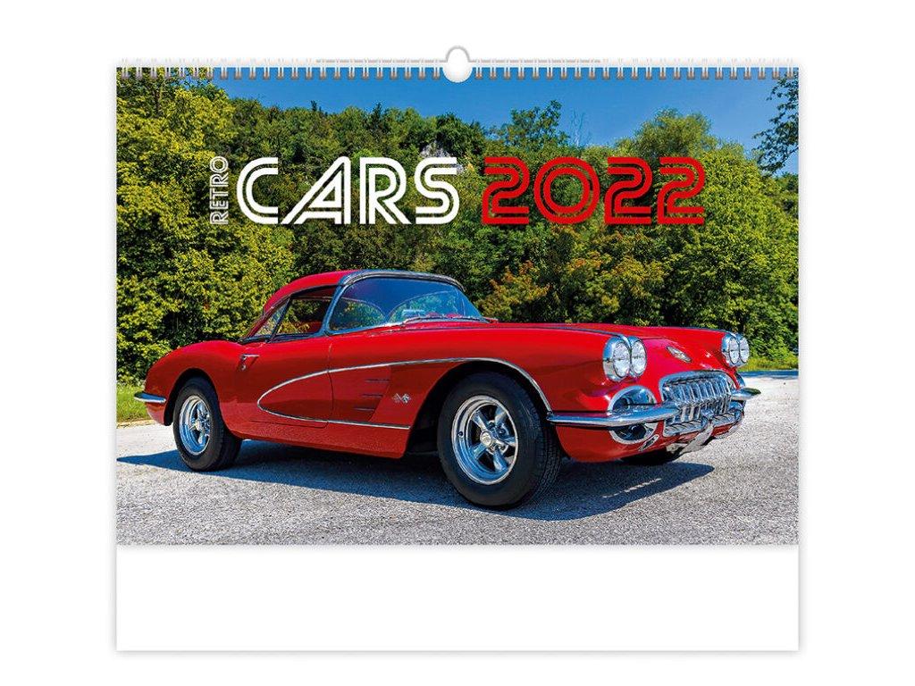 Kalendár Retro Cars