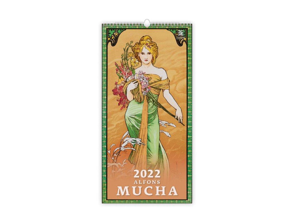Kalendár Alfons Mucha