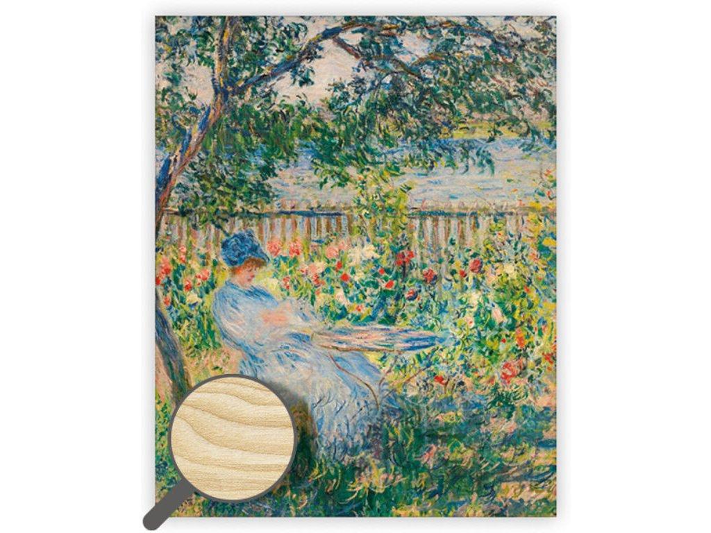 Drevený obraz Impressionism