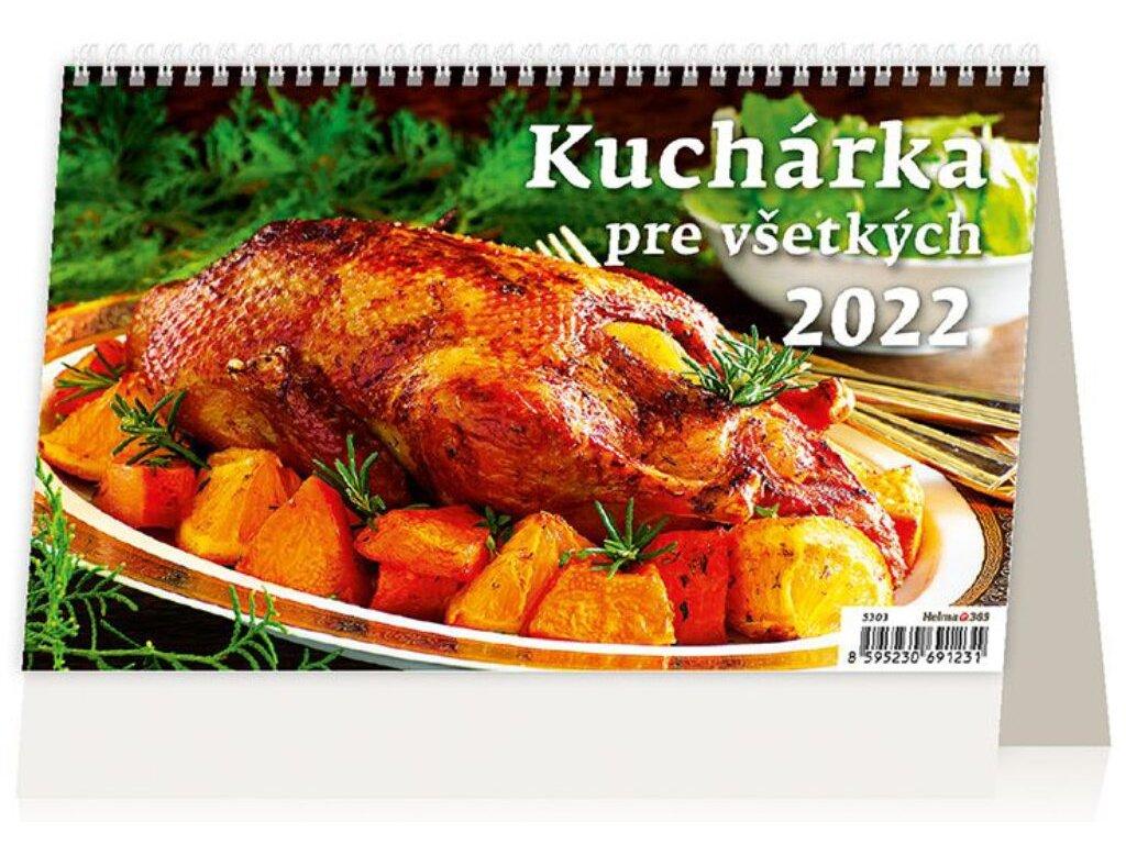 Kalendár Kuchárka pre všetkých