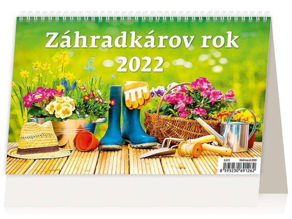 Kalendár Záhradkárov rok