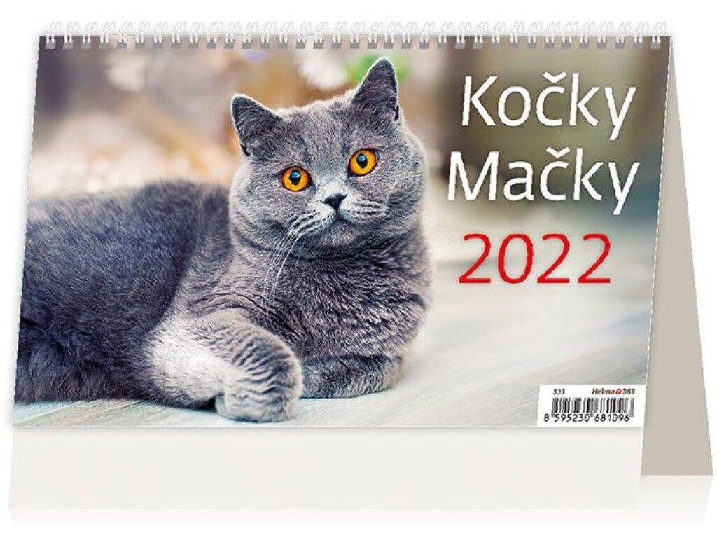 Kalendár Mačky
