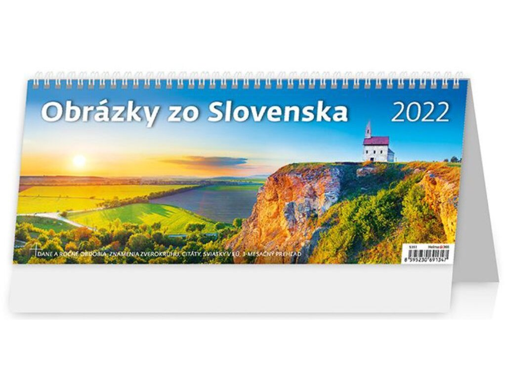 Kalendár Obrázky zo Slovenska