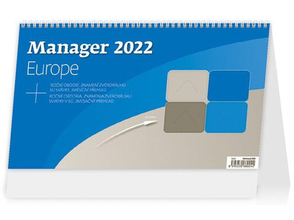Kalendár Manager Europe