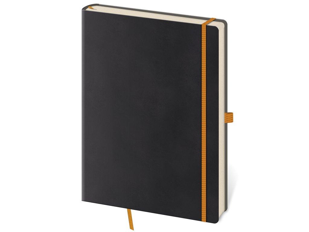 Zápisník Flexies L bodkovaný čierny